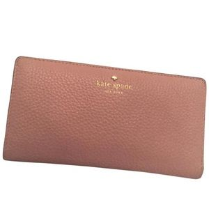 643e066efdd54 ... Kate Spade Pale Pink Envelope Wallet ...
